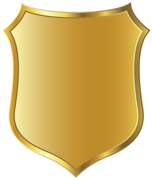 Badge template gold picture. Background clipart police