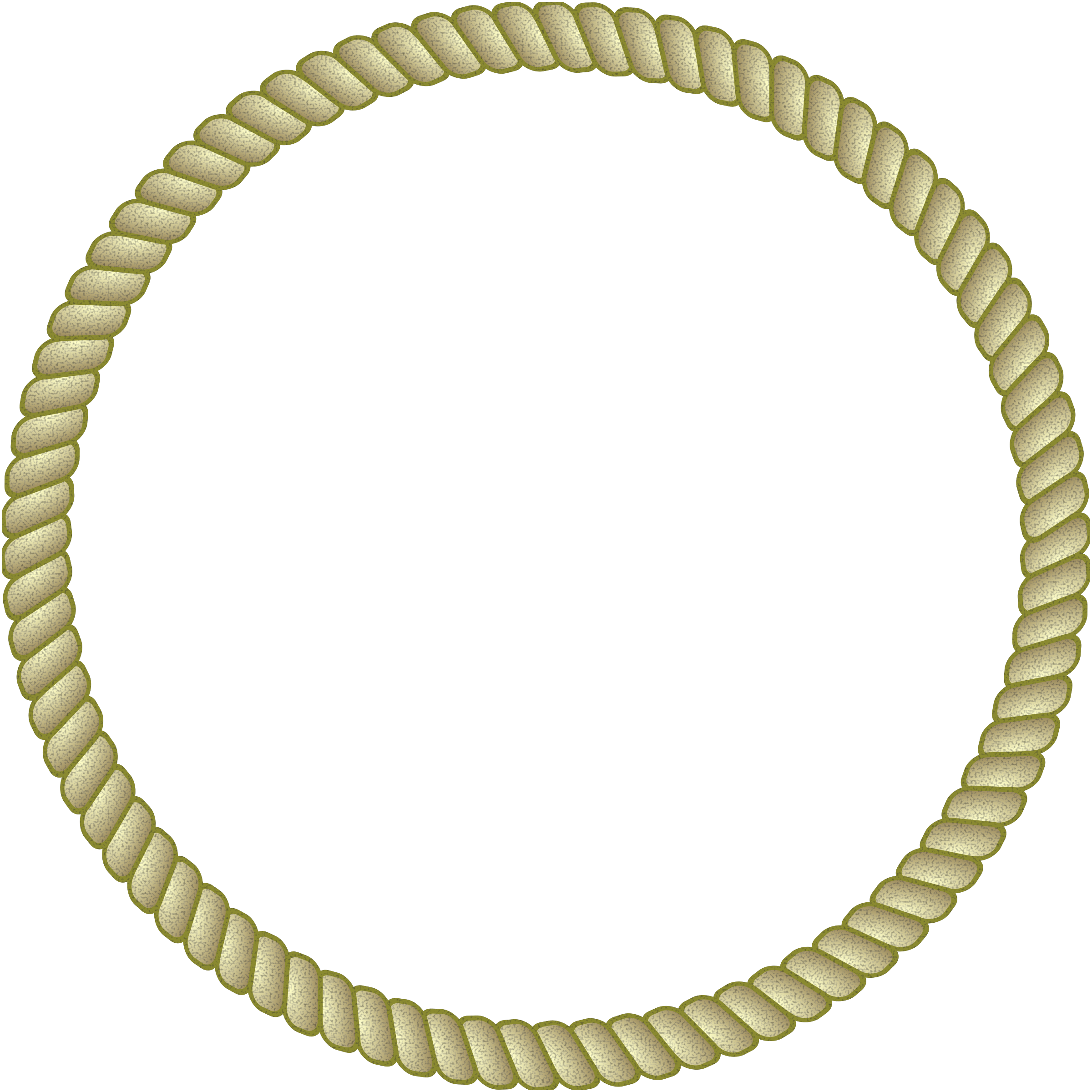 Rope border png. Clipart round big image