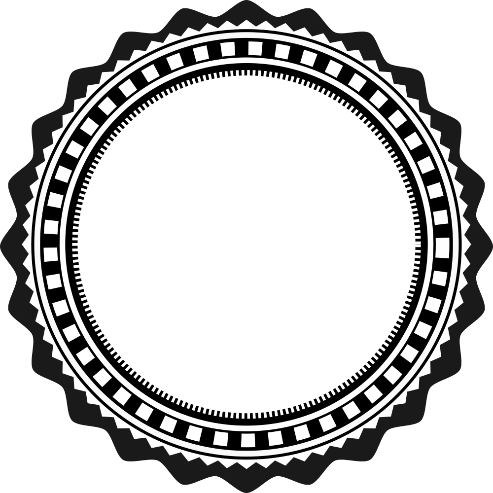 Onlinelabels clip art fancy. Badge clipart rope