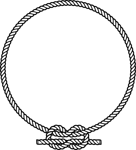 Badge clipart rope. Free vector inkscape tutorials