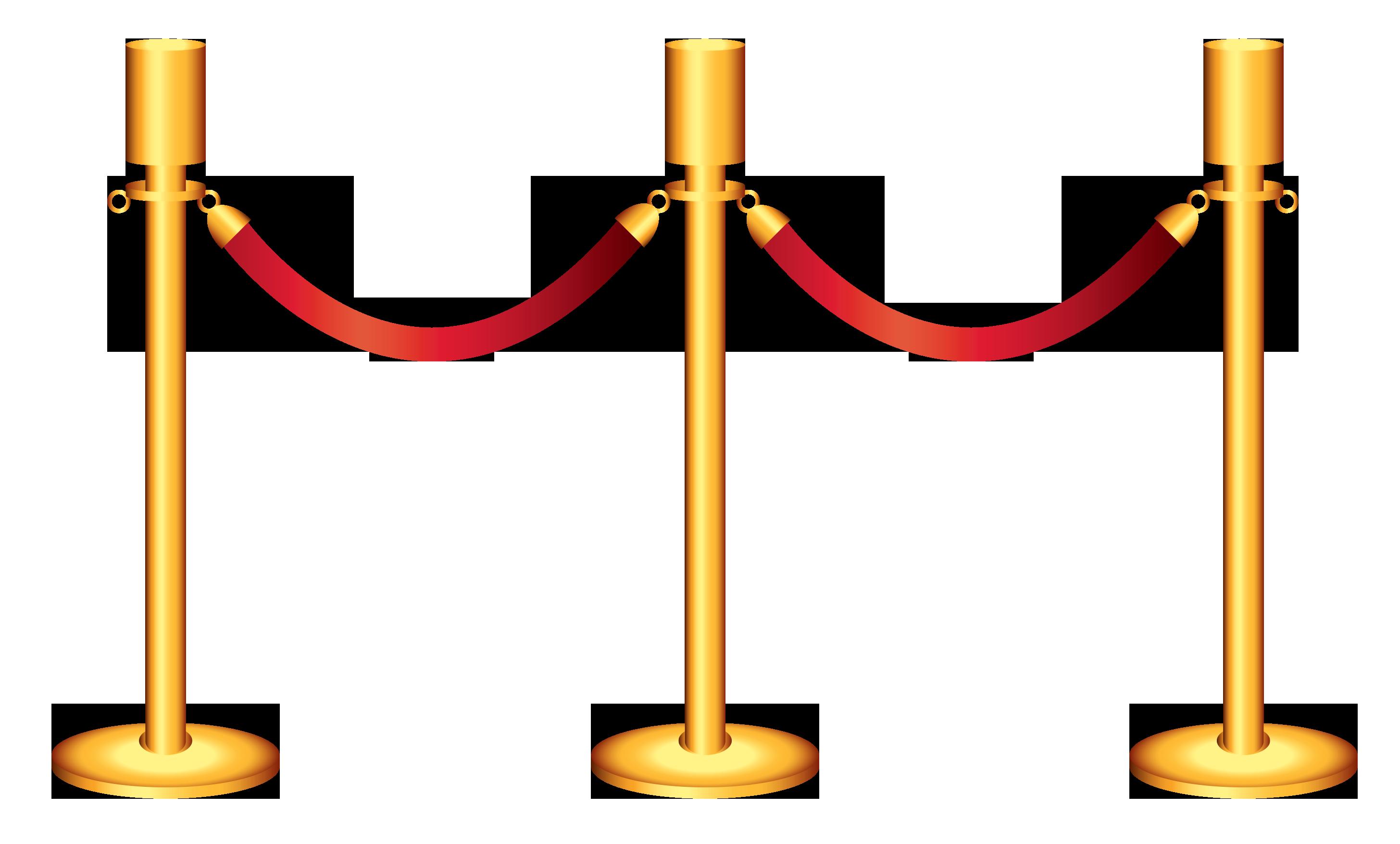 Golden barricade transparent png. Heart clipart rope