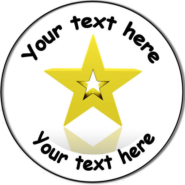 Badge clipart school. Personalised custom education and