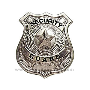 Badge clipart security officer.
