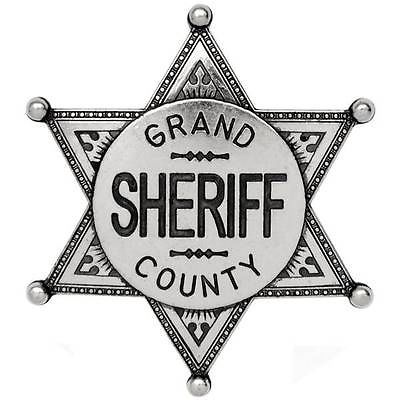 Grand county law enforcement. Badge clipart sheriff