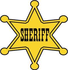 Badge clipart sheriff. Collection of free download