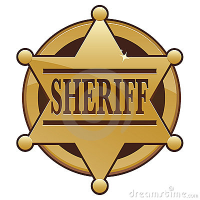 clipartlook. Badge clipart sheriff