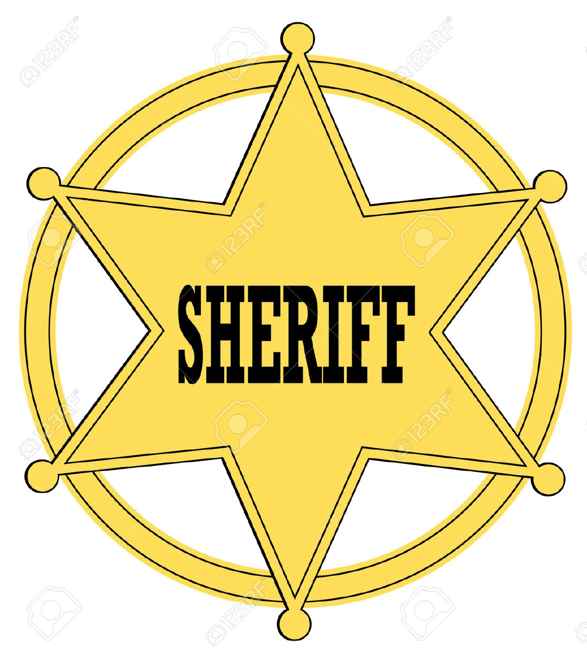 Awesome gallery digital collection. Badge clipart sheriff