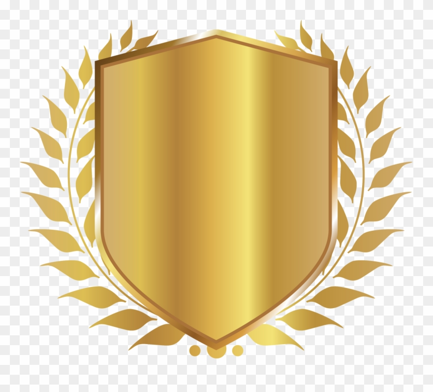 Badge clipart shield. Free png image bronze