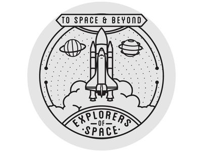 Badges spaces and logos. Badge clipart space