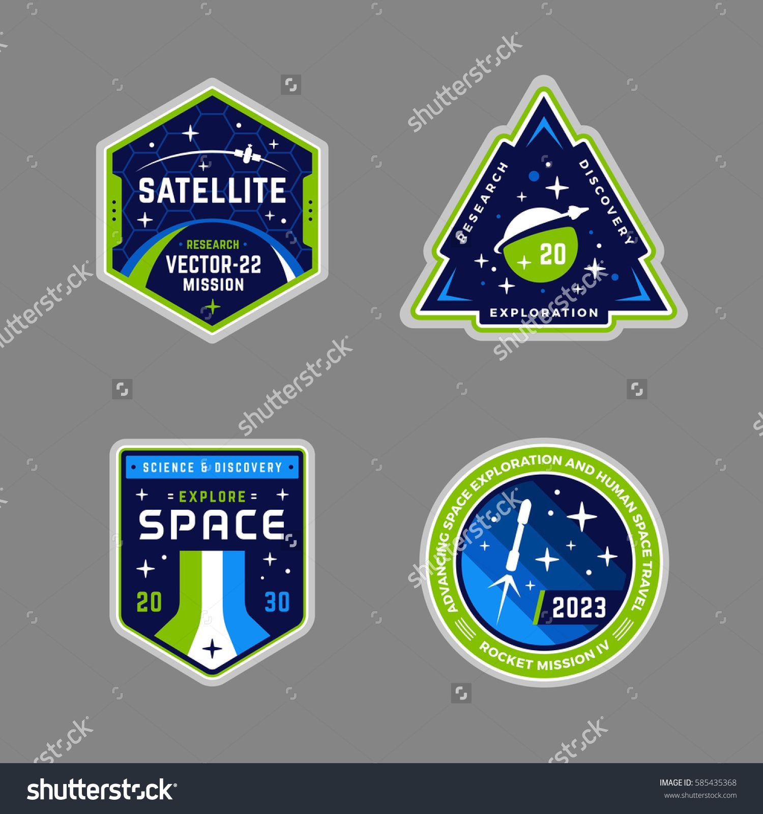 Modern and super clean. Badge clipart space