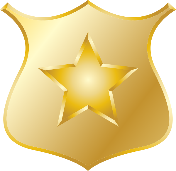 Clipart shield file. Image police badge png