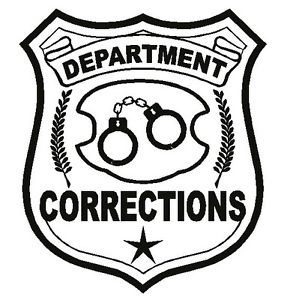 Department of corrections doc. Badge clipart sticker