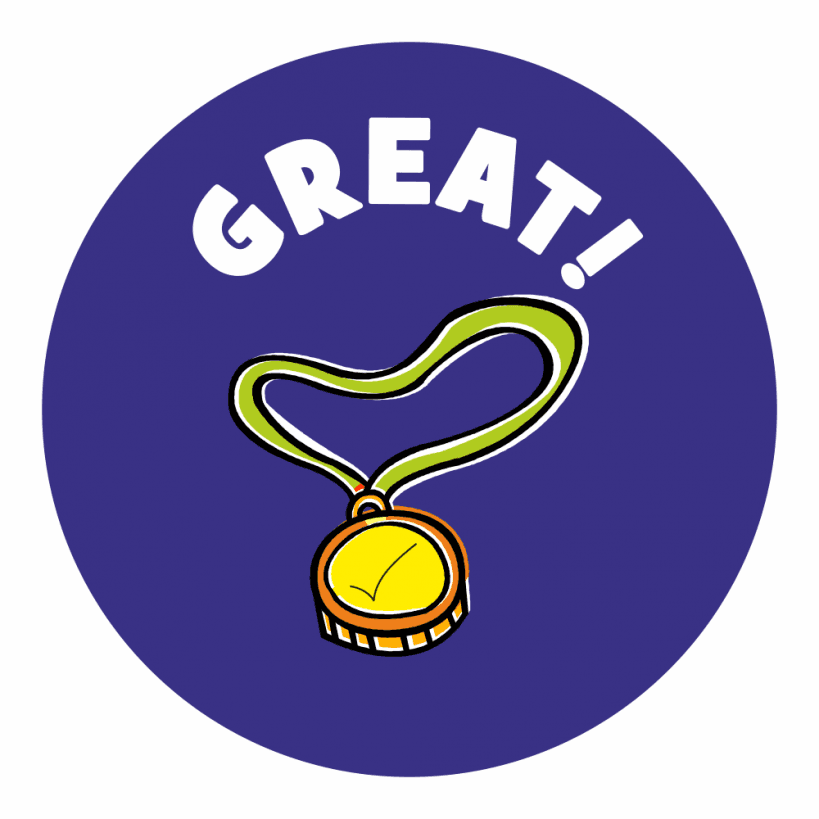 Well done praise stickers. Badge clipart sticker