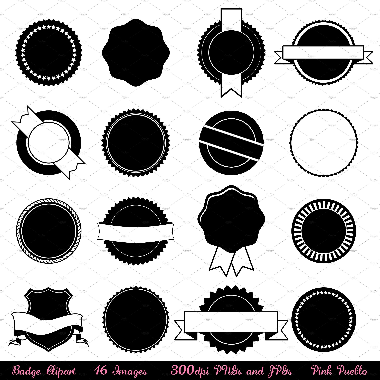 Vectors and illustrations creative. Badge clipart sticker