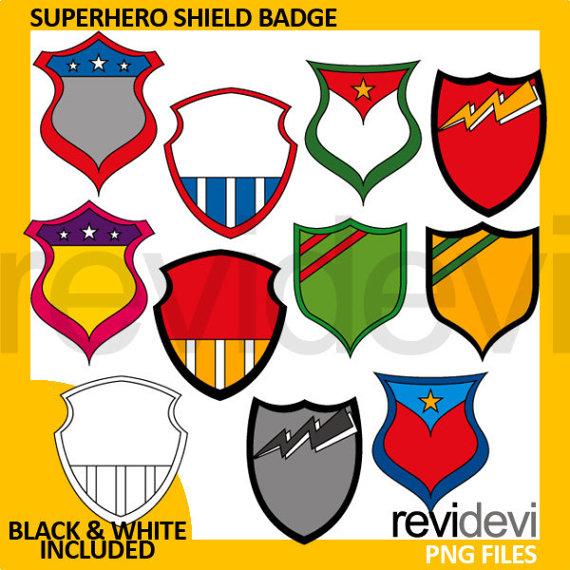Shield clip art tags. Badge clipart superhero