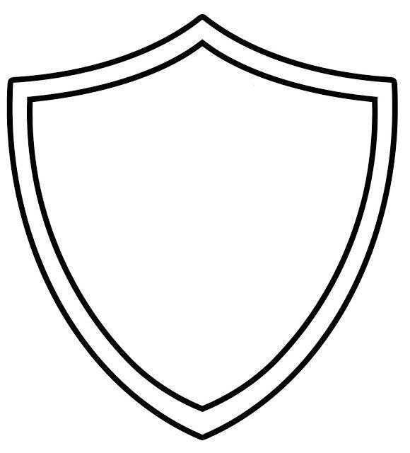 Template printable ctr shield. Badge clipart superhero