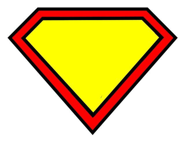Printable logo birthday pinterest. Badge clipart superhero