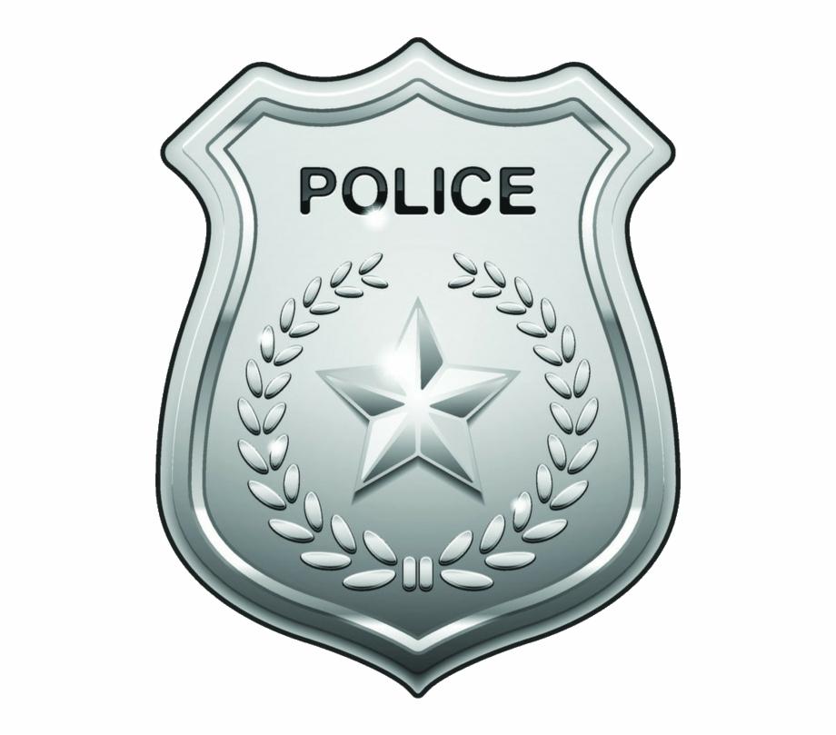 Police pol cia distintivo. Badge clipart symbol