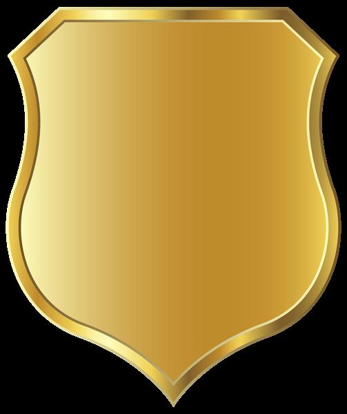 Badge clipart transparent background. Golden template png image