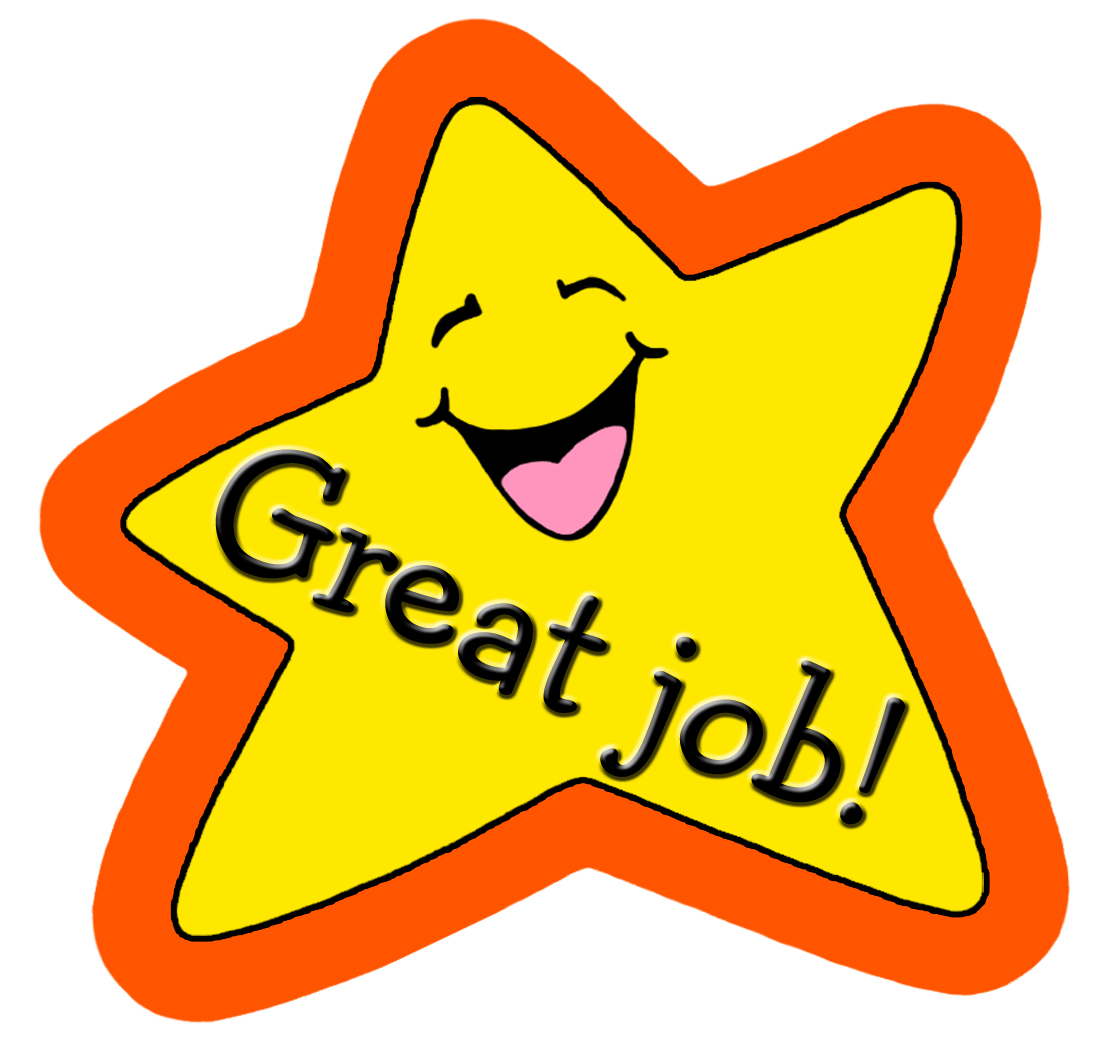 Badge clipart well done. Good jobs incep imagine