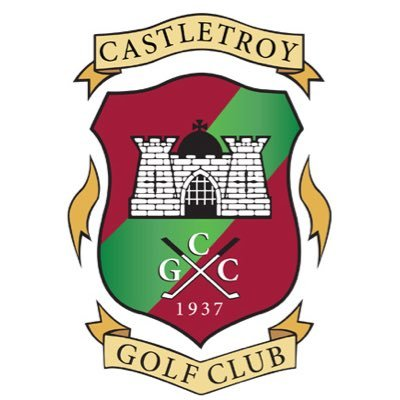Castletroy golf club on. Badge clipart well done