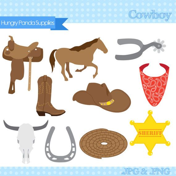 Badge clipart wild west. Cowboy digital sheriff clip
