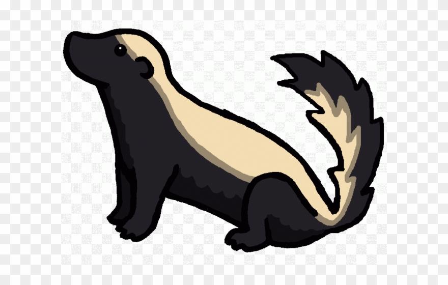 Badger clipart. Clip art black and