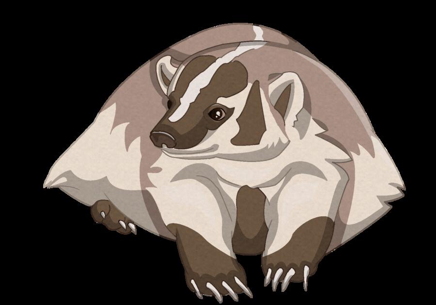 Badger clipart american badger. By dharmanow deviantart com