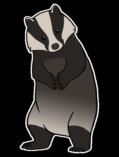 Free honey download . Badger clipart american badger