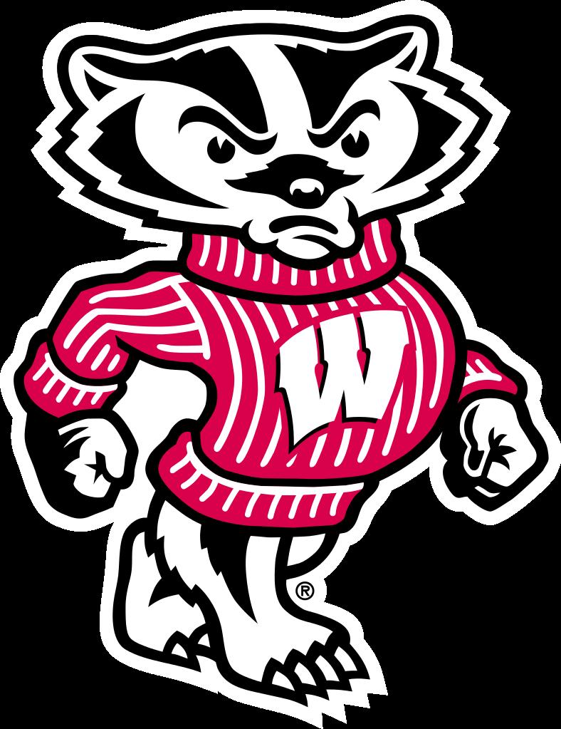 Wisconsin football . Golfer clipart avatar