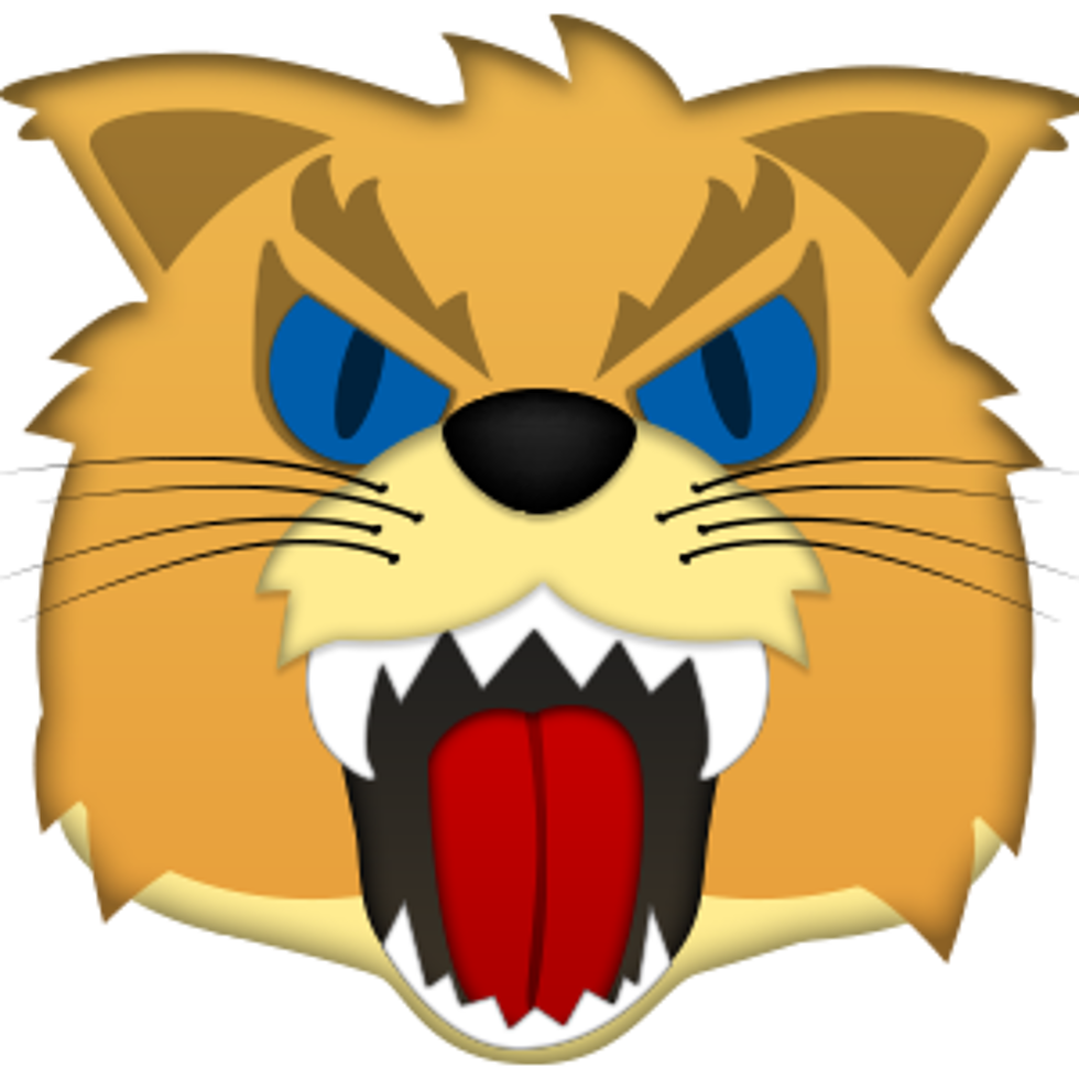 Ncaa mascot for the. Elvis clipart emojis