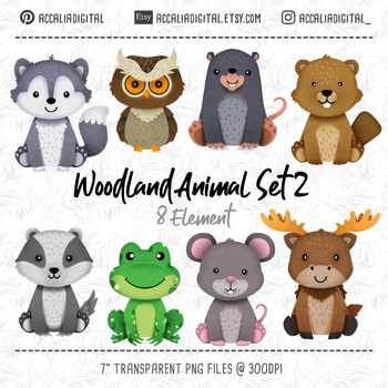 Animals wolf moose beaver. Wolves clipart woodland