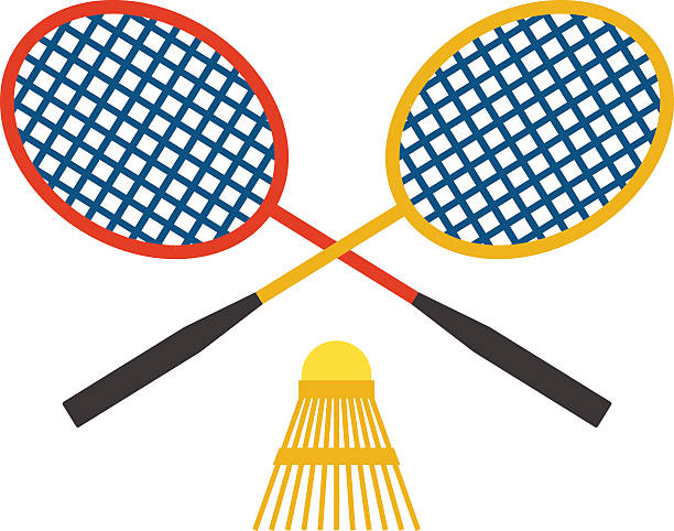 Station. Badminton clipart