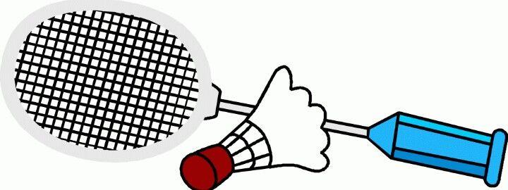 Badminton clipart badminton equipment. Tennis racket sports
