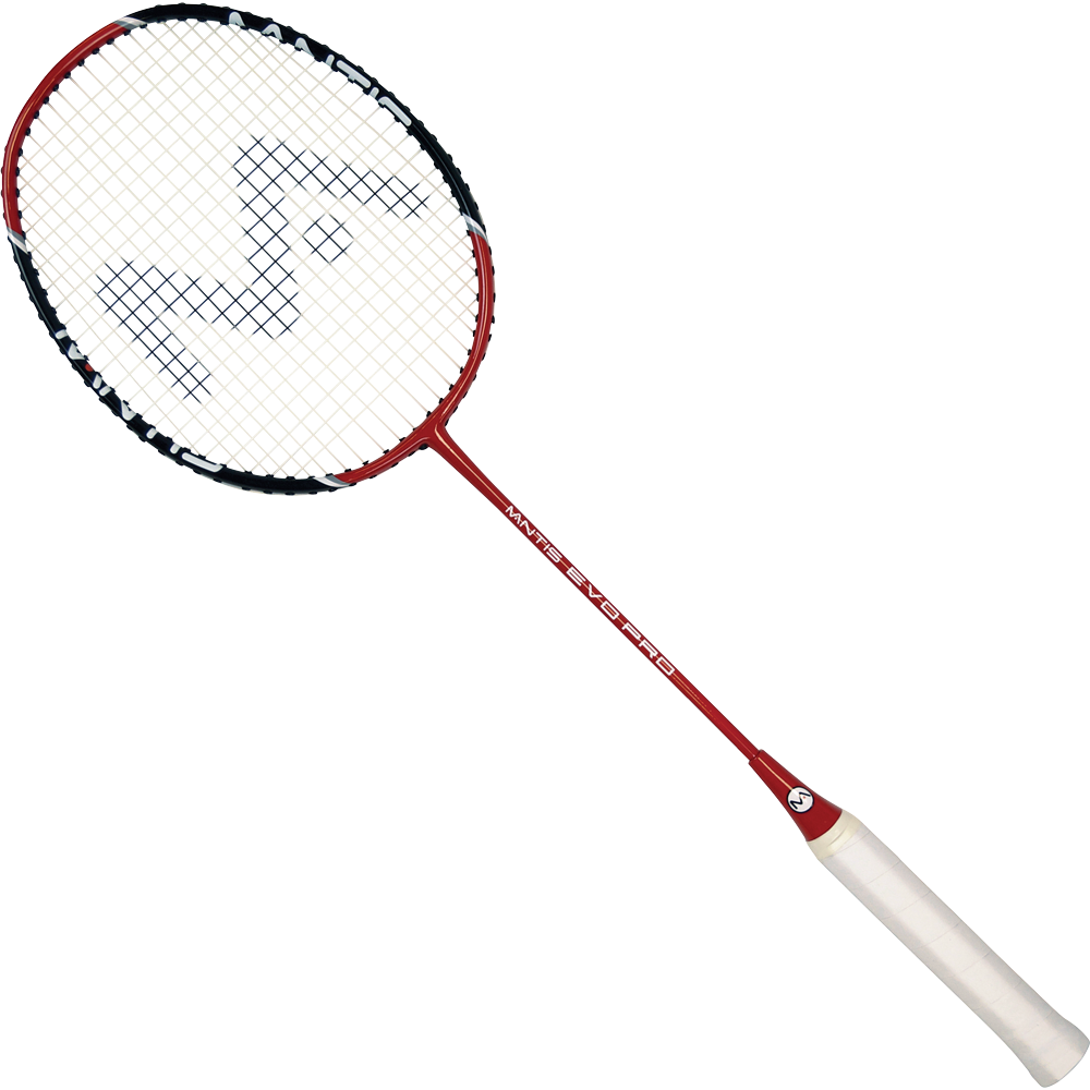 Badminton clipart badminton equipment. Rackets mantis evo pro