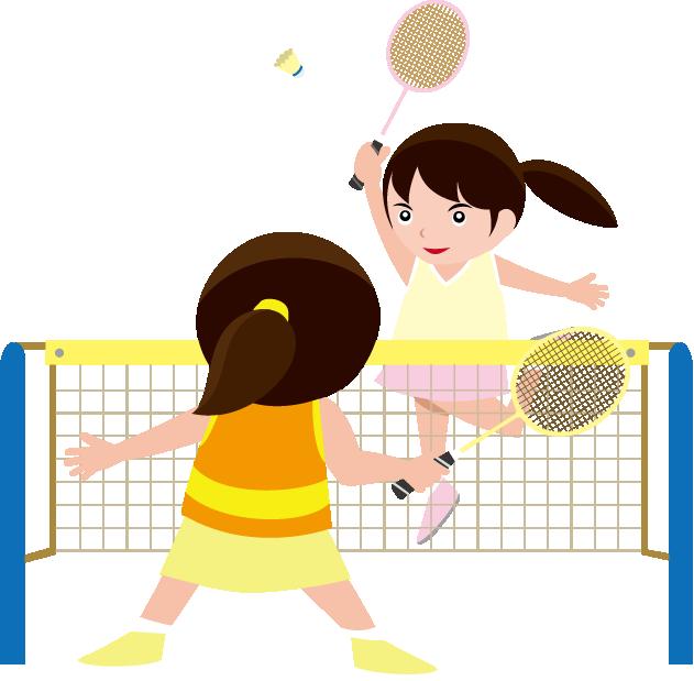 Girl badminton pencil and. Girls clipart cricket