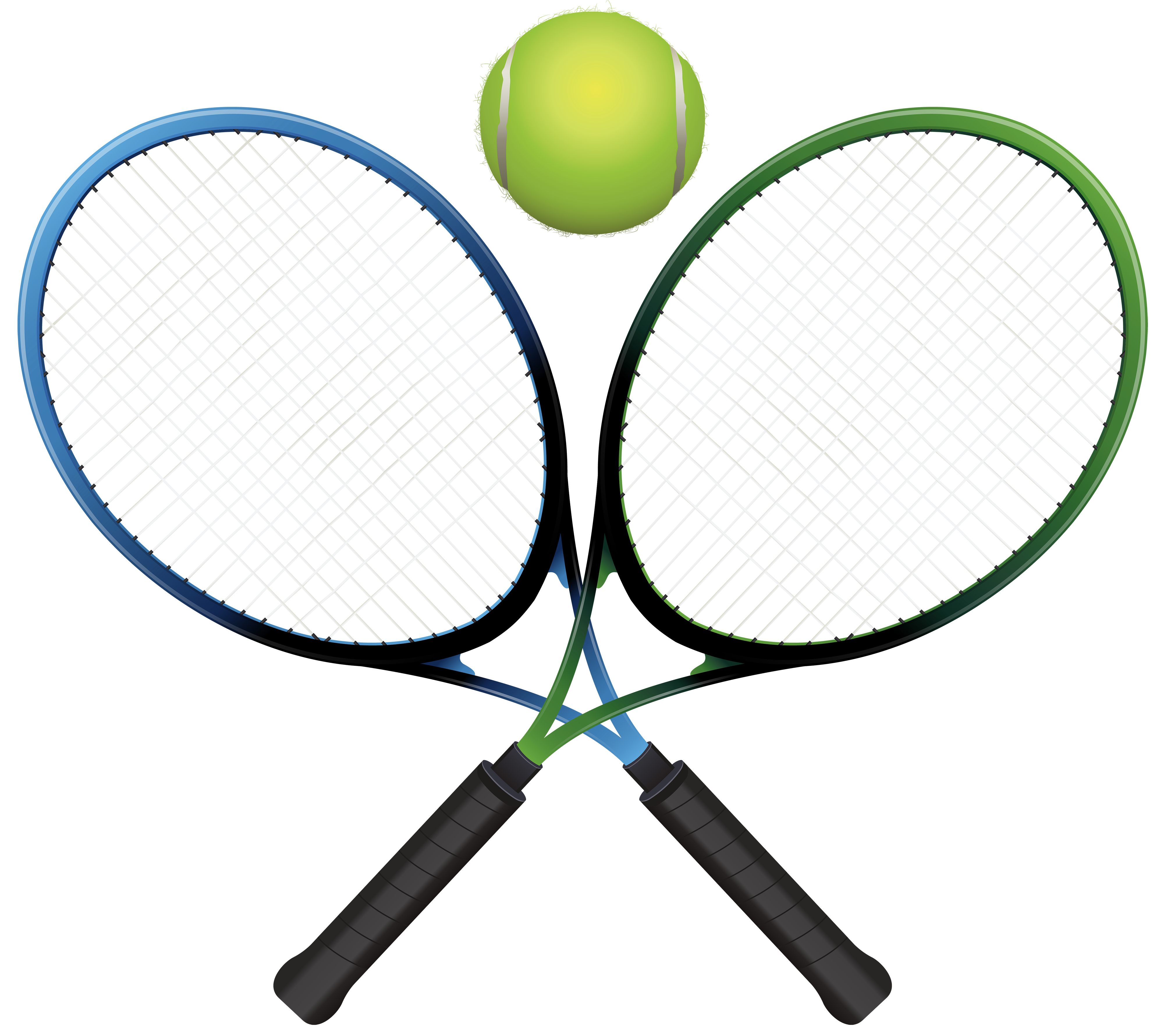 Rackets and ball png. Cup clipart tennis