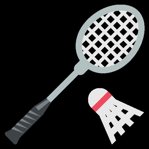 Badminton clipart emoji. Racquet for facebook email
