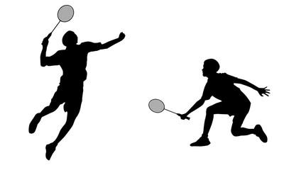 Badminton clipart jump smash. Search photos court battle