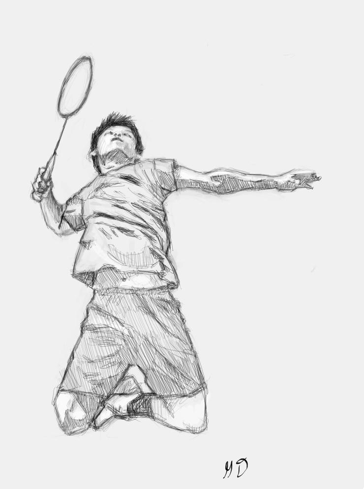 Mugdays gumaro deviantart by. Badminton clipart jump smash