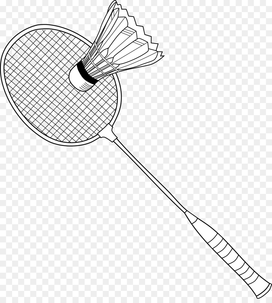 Badmintonracket net clip art. Badminton clipart shuttlecock