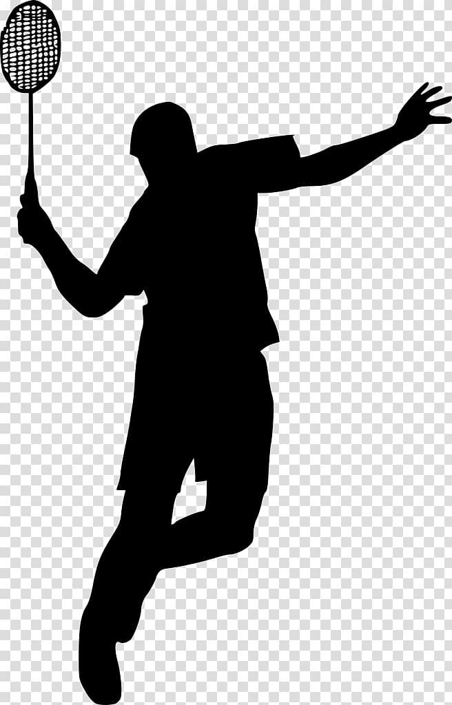 Silhouette basketball logo . Badminton clipart sport badminton