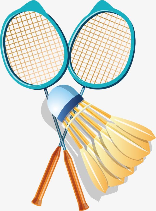Racket sports png vectors. Badminton clipart sport badminton