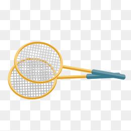 Racket png vectors psd. Badminton clipart vector
