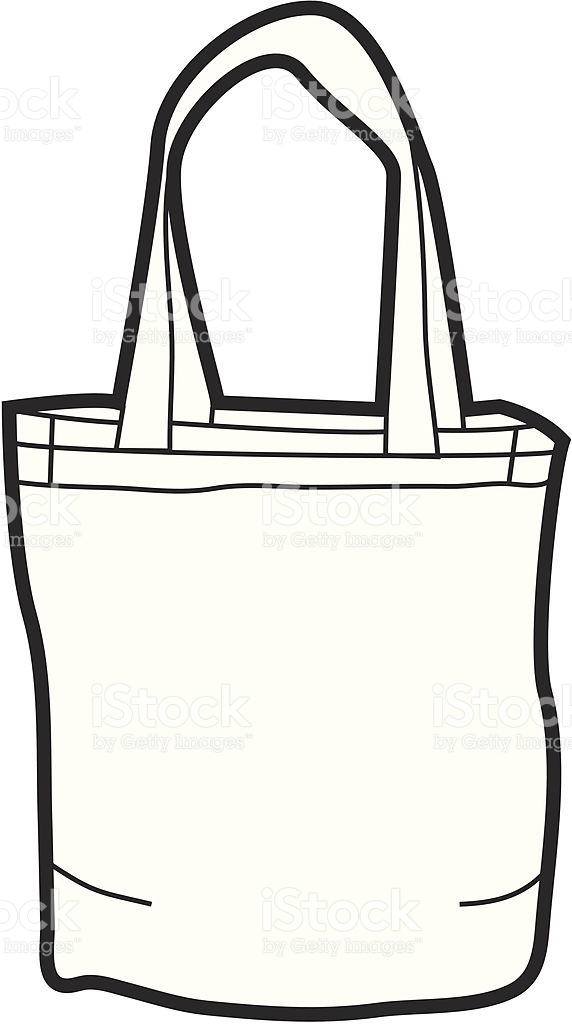 Canvas clipground laundry bags. Bag clipart