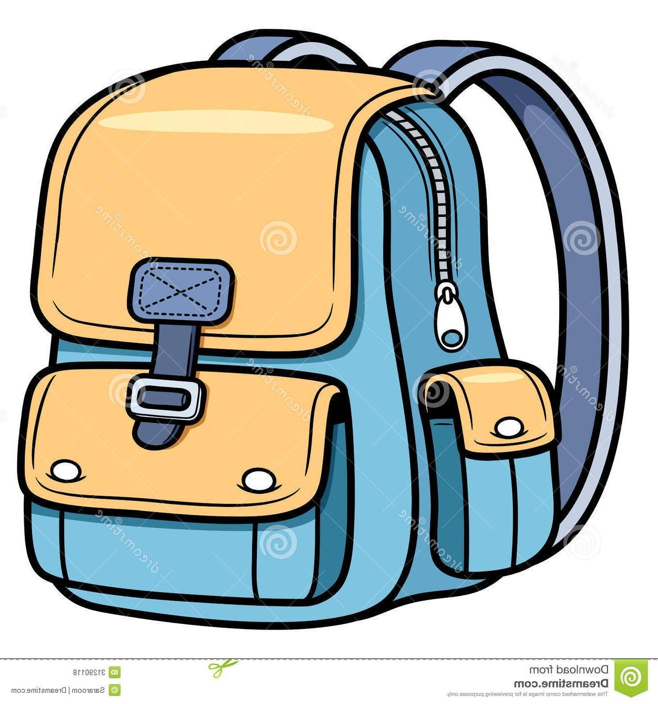Bag clipart. Awesome unique school vector