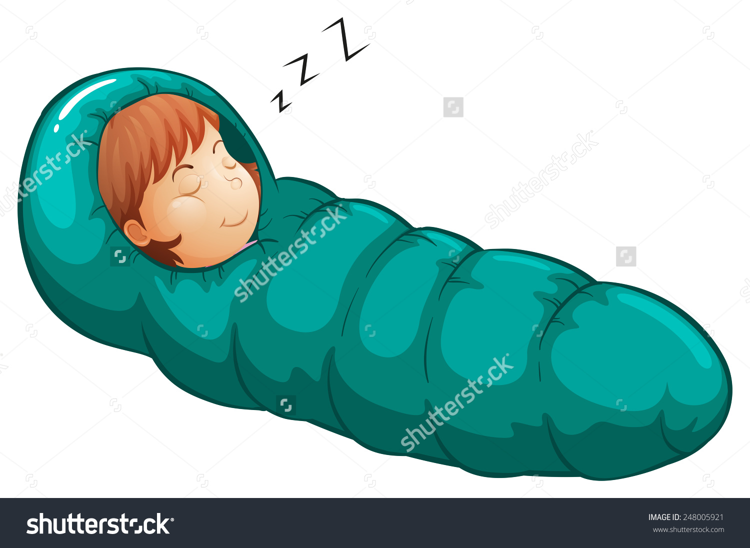 Bag clipart animated. Sleeping free collection download