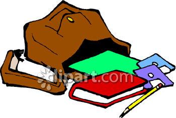 Bag clipart animated. Cartoon high school diploma