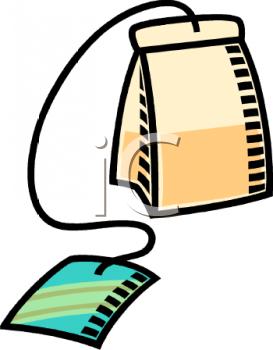 Tea funny . Bag clipart animated