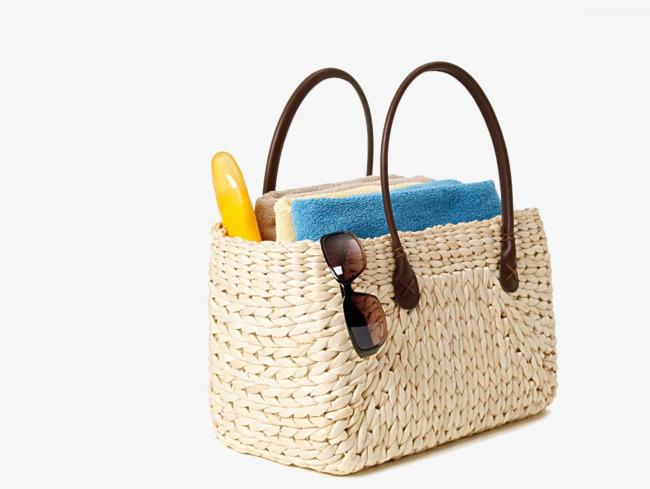 Bags towel sort out. Bag clipart beach bag
